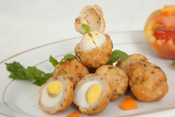 Cá Viên Trứng Cút