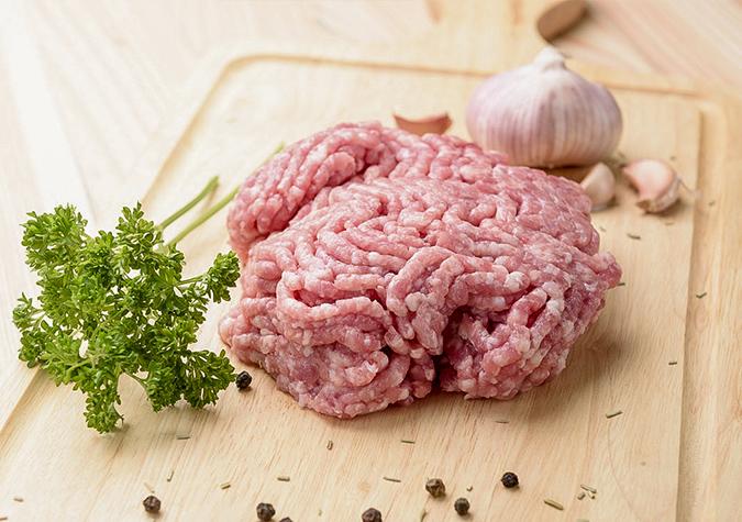 Thịt đùi vai xay