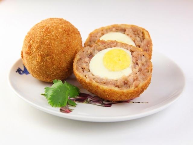 Thịt Viên Trứng Cút